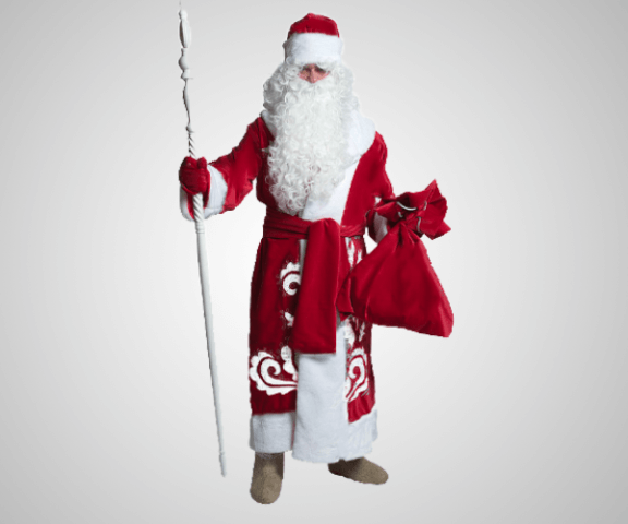 Боярский костюм Деда Мороза.